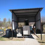 Reactor de nitrificación parcial-Anammox (PN/AMX) AQU-ELAN® en la planta demostrativa de Valdebebas (Madrid)